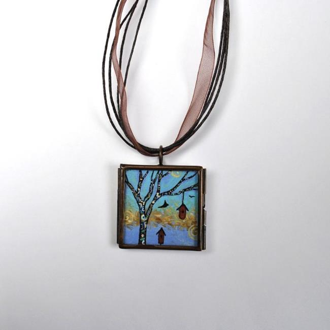 Art: Living in Full Color ~ Original Wearable Art - Sold by Artist Dana Marie