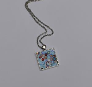 Detail Image for art River Song - Original Dana Marie Wearable Art - Sold