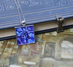 Art: Shades of Purple Abstract - Original Dana Marie Wearable Art by Artist Dana Marie
