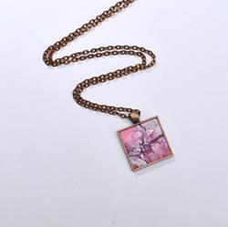 Art: Abstract Desert Rose - Original Wearable Art by Artist Dana Marie