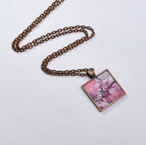 Detail Image for art Abstract Desert Rose - Original Wearable Art