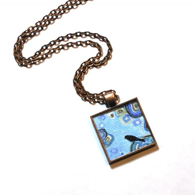 Art: To The Moon and Back ~ Dana Marie Wearable Art - Sold by Artist Dana Marie