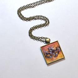 Art: Metallic Sunrise ~ Wearable Art by Artist Dana Marie