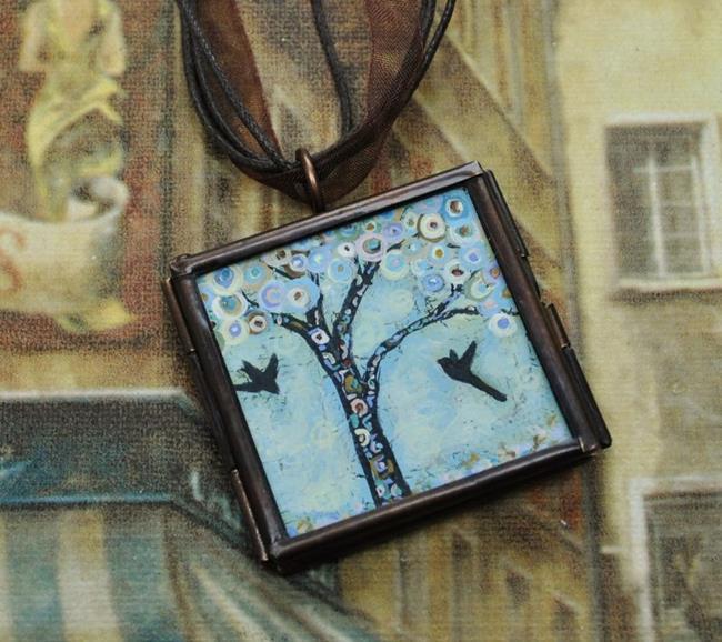 Art: Spring Break - Original Dana Marie Wearable Art - Sold by Artist Dana Marie