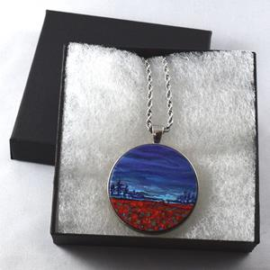 Detail Image for art After the Storm - Wearable Art - Sold