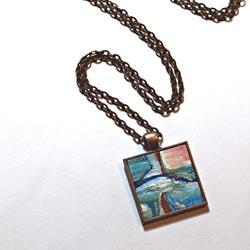 Art: Rice Field ~ Original Wearable Art by Artist Dana Marie