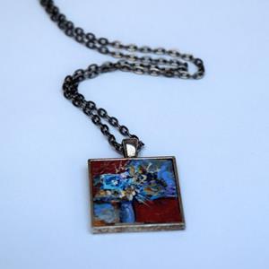 Detail Image for art Blue Eyed Beauty ~ Original Wearable Art