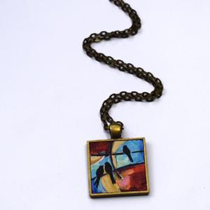Detail Image for art Sunrise, Sunset ~ Original Wearable Art - sold