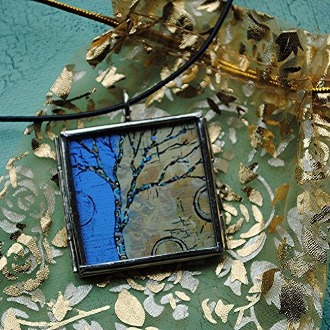 Art: Portals of Discovery ~ Synergy Series ~ Original Wearable Art ~ Sold by Artist Dana Marie