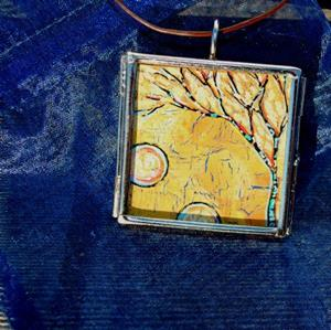 Detail Image for art Down to Earth ~ Original Wearable Art ~ Sold