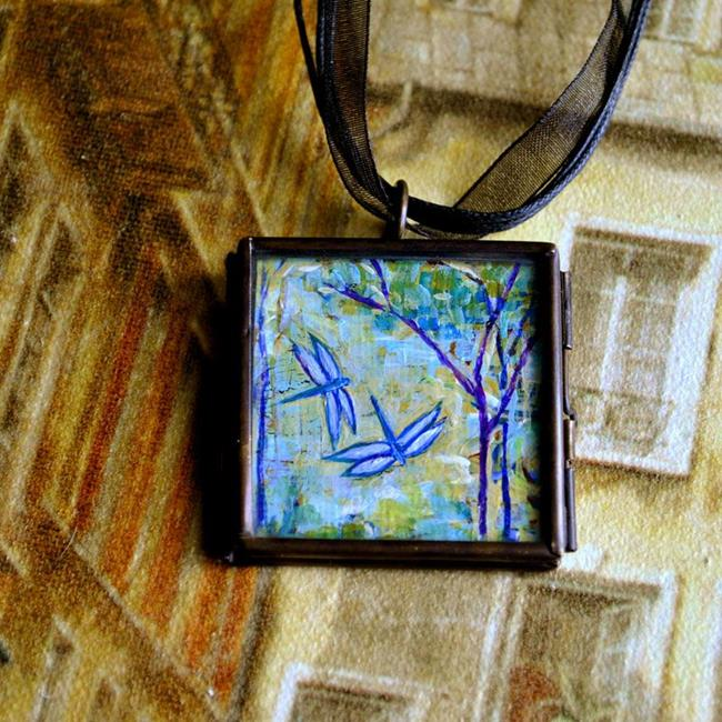 Art: Tao Garden ~ Original Dana Marie Wearable Art - Sold by Artist Dana Marie