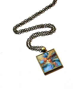 Detail Image for art August Sunset Abstract II ~ Wearable Art