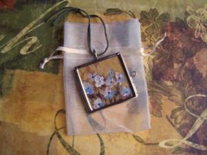 Detail Image for art <b>Gratitude~ Glass Locket Pendant ~ SOLD