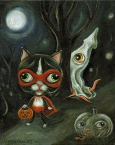 Detail Image for art Halloween in Wibbley