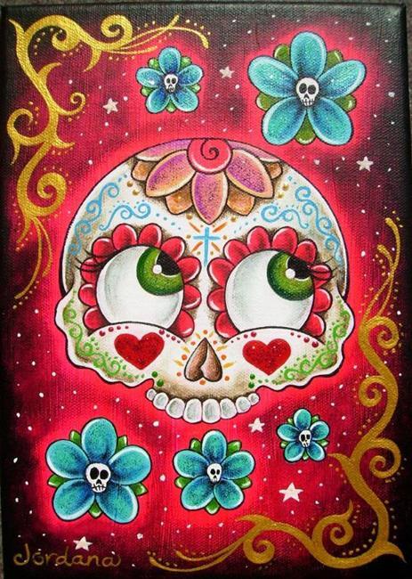 Art: Flores para los muertos by Artist Miss Moon