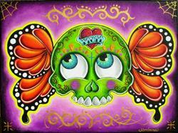 Art: Death in guacamole by Artist Jordana