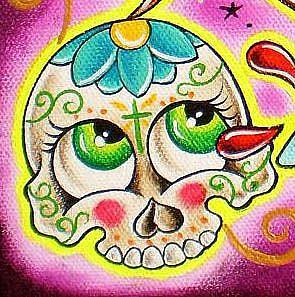 Detail Image for art Sacred sugar heart