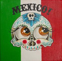 Art: Mexico! by Artist Jordana