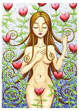 Art: My Heart Garden by Artist Hiroko Reaney