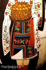 Detail Image for art Bukovyna Dancers Korovai