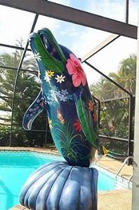 Detail Image for art Paradise Porpoise