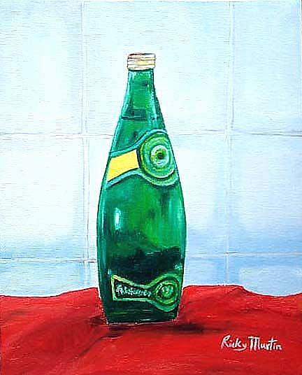 Art: Designer water by Artist Ulrike 'Ricky' Martin