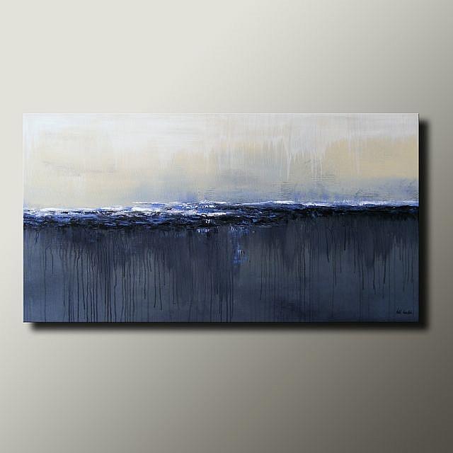 Art: Winter Blues by Artist Idil Kamlik