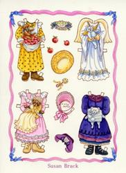 Art: PAPER DOLL Alice 2 by Artist Susan Brack