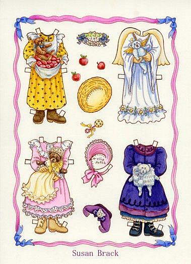 Art: PAPER DOLL Alice 2 by Artist Susan Brack