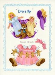 Art: DRESS UP #2 by Artist Susan Brack