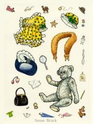 Art: TREASURES IN THE ATTIC #2 by Artist Susan Brack