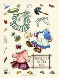 Art: TREASURES IN THE ATTIC #1 by Artist Susan Brack