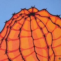 Art: My Orange Hat by Artist Kris Jean