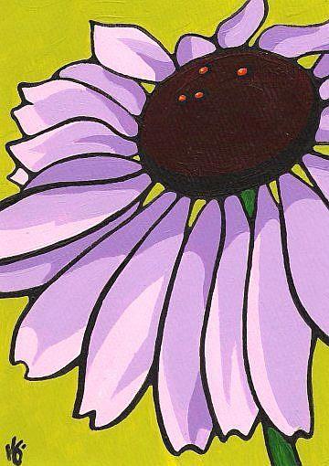 Art: Echinacea: Purple Cone Flower by Artist Kris Jean