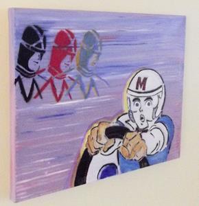 Detail Image for art Speed Racer