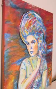 Detail Image for art Debbie Harry, Hairspray Pop Art Portrait