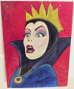 Detail Image for art Evil Queen Surprise