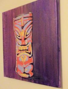 Detail Image for art Original Graffiti Tiki Cup #1