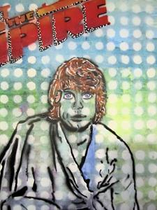 Detail Image for art Luke Skywalker Star Wars Resist