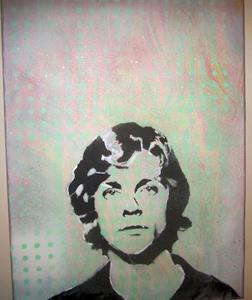 Detail Image for art Luke Skywalker Face Original Pop Graffiti Art