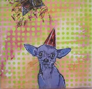 Detail Image for art Birthday Chihuahua