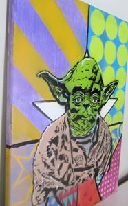 Detail Image for art Graffiti Pop Art Star Wars Yoda