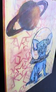 Detail Image for art Chiwawa Dog in Space