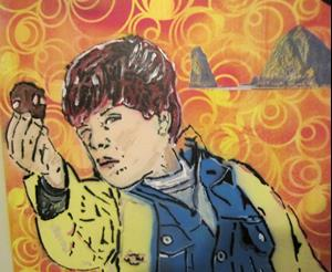 Detail Image for art Goonies Mikey