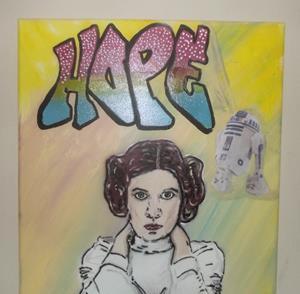 Detail Image for art Princess Leia