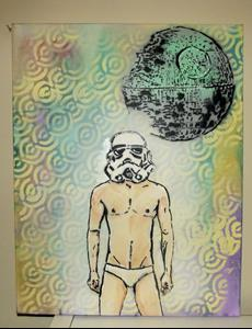 Detail Image for art Stormtrooper in Tighty Whities