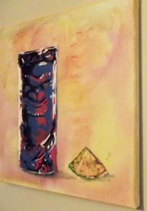 Detail Image for art Original Graffiti Tiki Cup #5