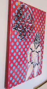 Detail Image for art Leather Fetish Darth Vader