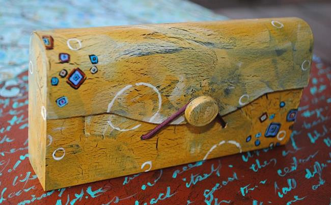 Art: Counting Blessings ~ Living in Whimsy Series by Artist Dana Marie
