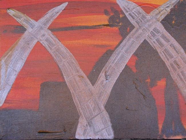 Art: Mombassa by Artist Carissa M Martos